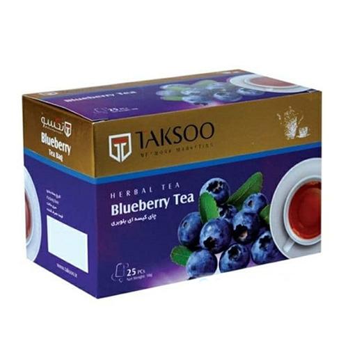 چای بلوبری یا تمشک آبی