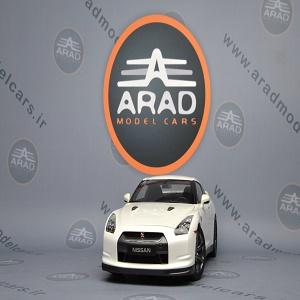 Nissan GTR white