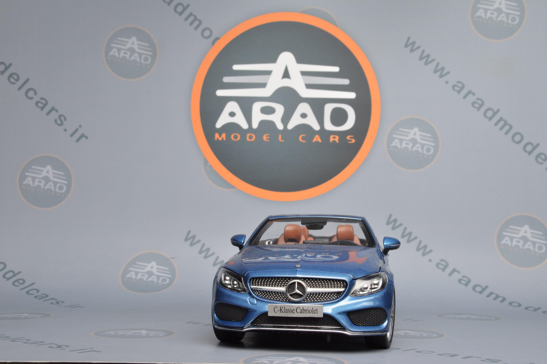 Mercedes Benz C Class cabrio Blue