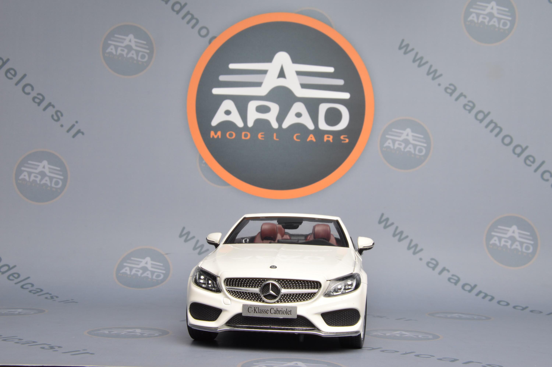 Mercedes Benz C Class Cabrio White
