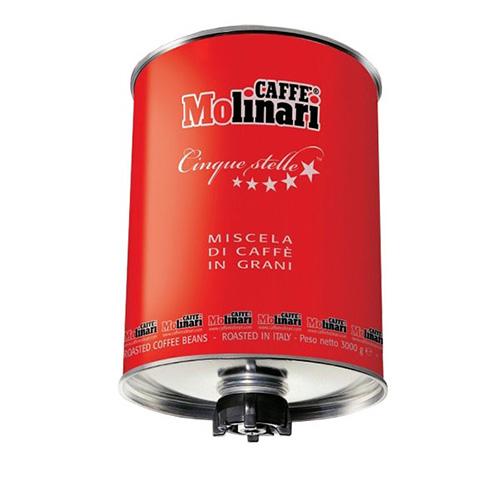 قهوه مولیناری سیلندر سه کیلوییمعمولی قرمز