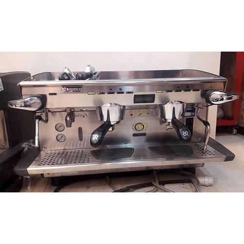 قهوه ساز صنعتی رنچلیو کلاس 8 مونیتوردار کاپ وارمردار باگارانتی