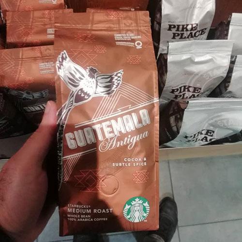 قهوه استارباکس گواتمالا