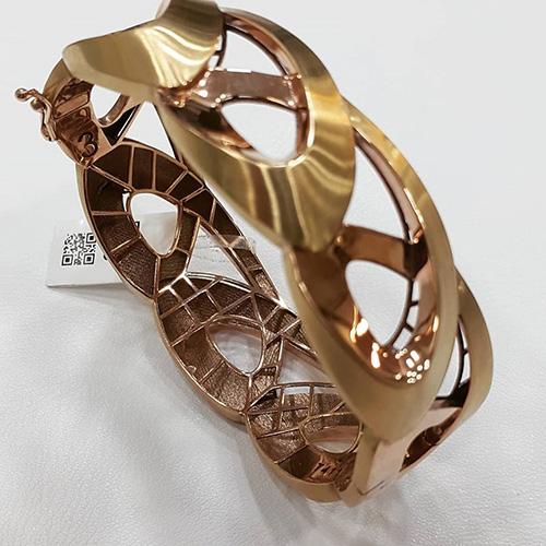 دستبند النگوی طرح ریتون