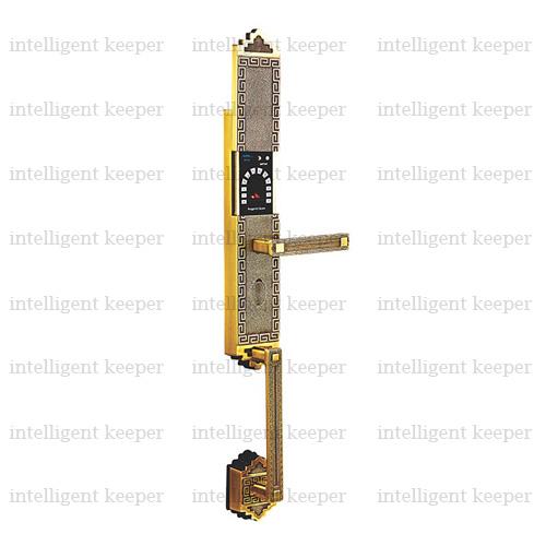 قفل آپارتمانی کلاسیک راست برنجی IK 5200<