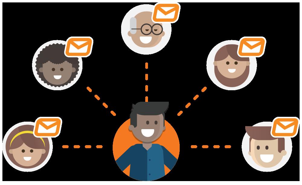 ارتباط با مشتری از طریق ارسال پیامک انبوه