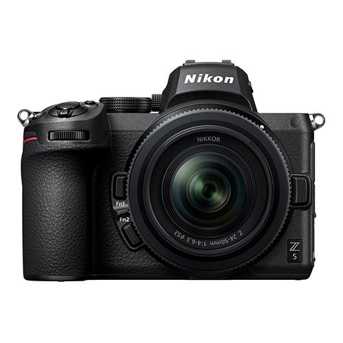 دوربین نیکون Z5 با سنسور 24 مگاپیکسلی رونمایی شد