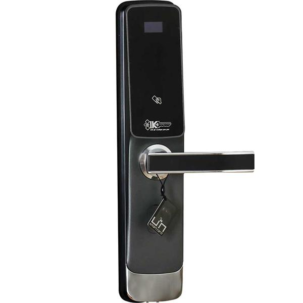 قفل آپارتمانی مدرن راست خاکستری IK 3191